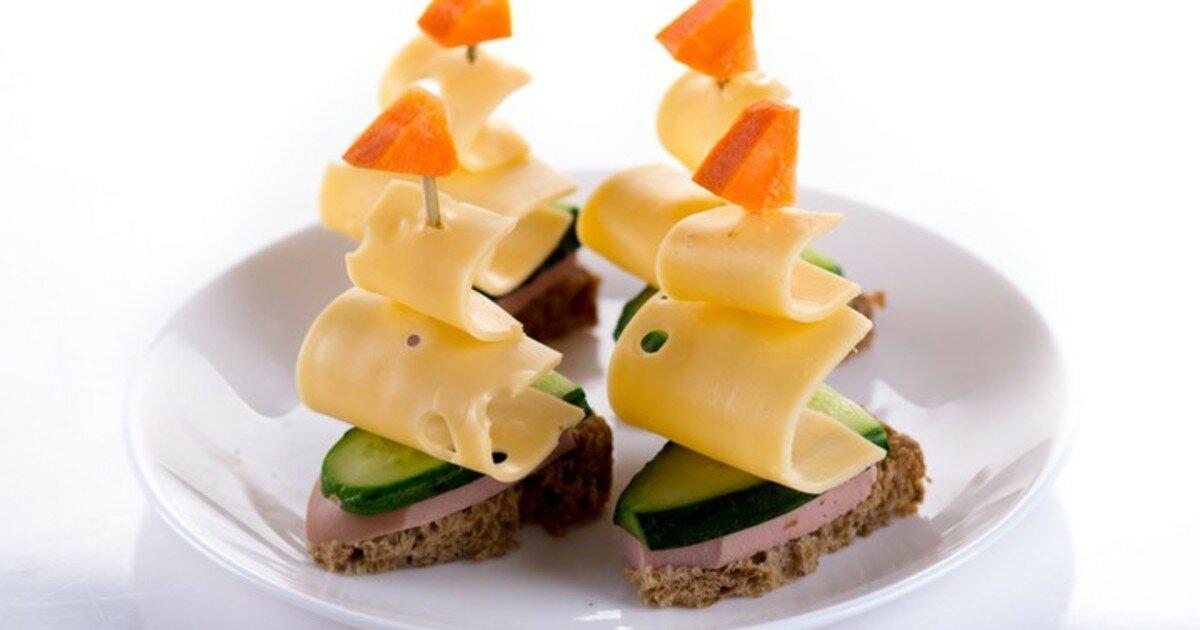 Картинки бутерброды канапе