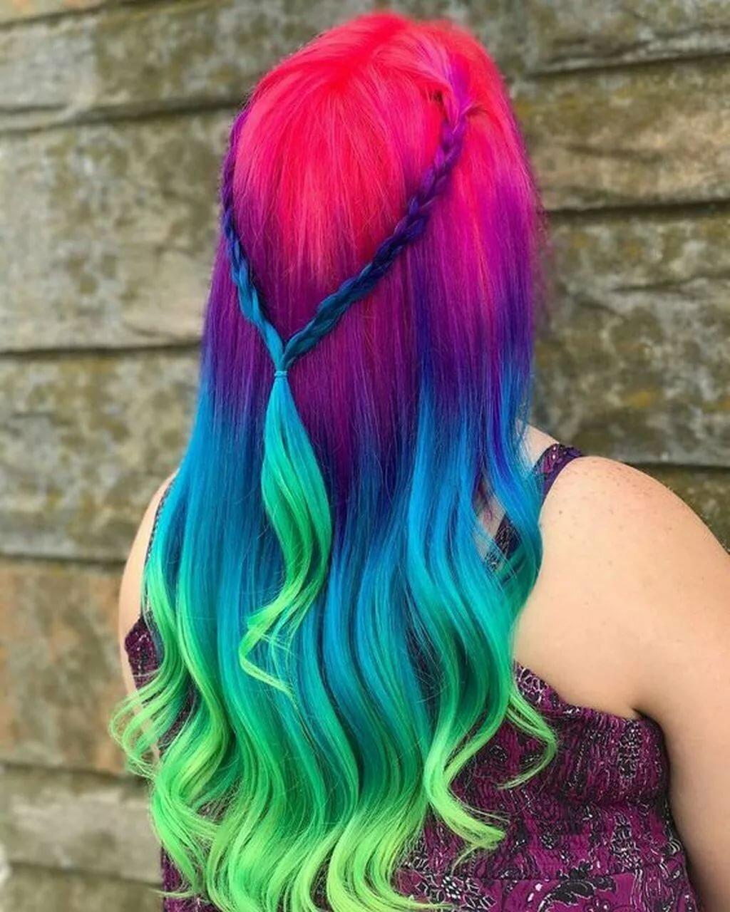 как красиво покрасить волосы фото современном