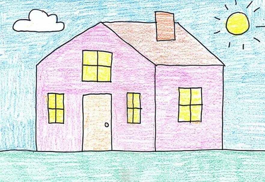 Нарисовать картинку для 1 класса