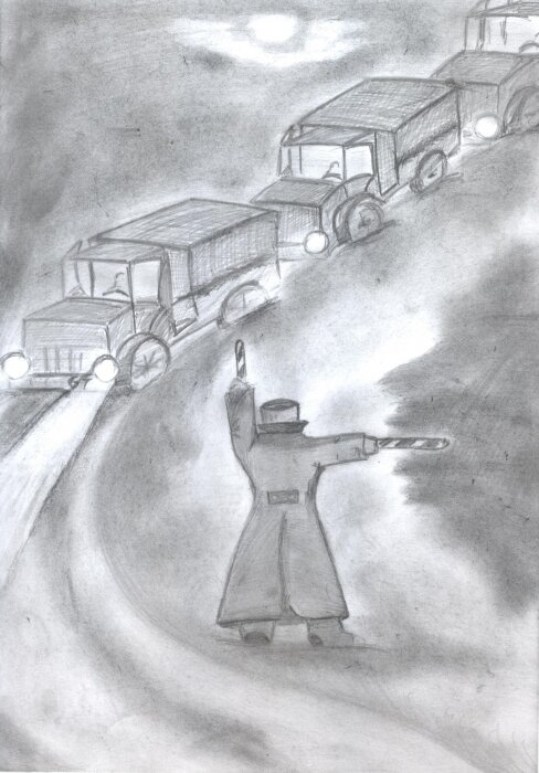 прихожую рисунок на тему дорога жизни блокада ленинграда таком тонком
