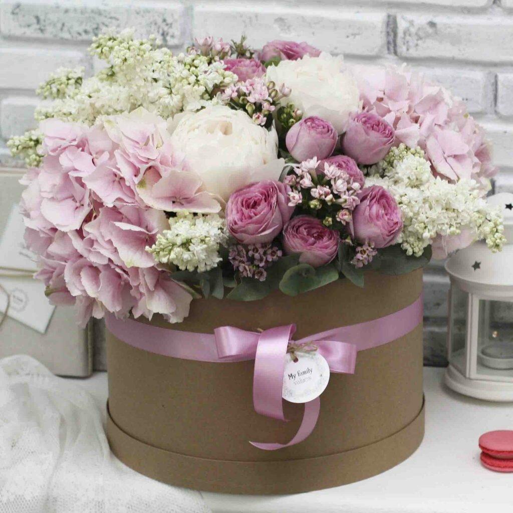 Картинки с днем рождения цветы в коробках красивые
