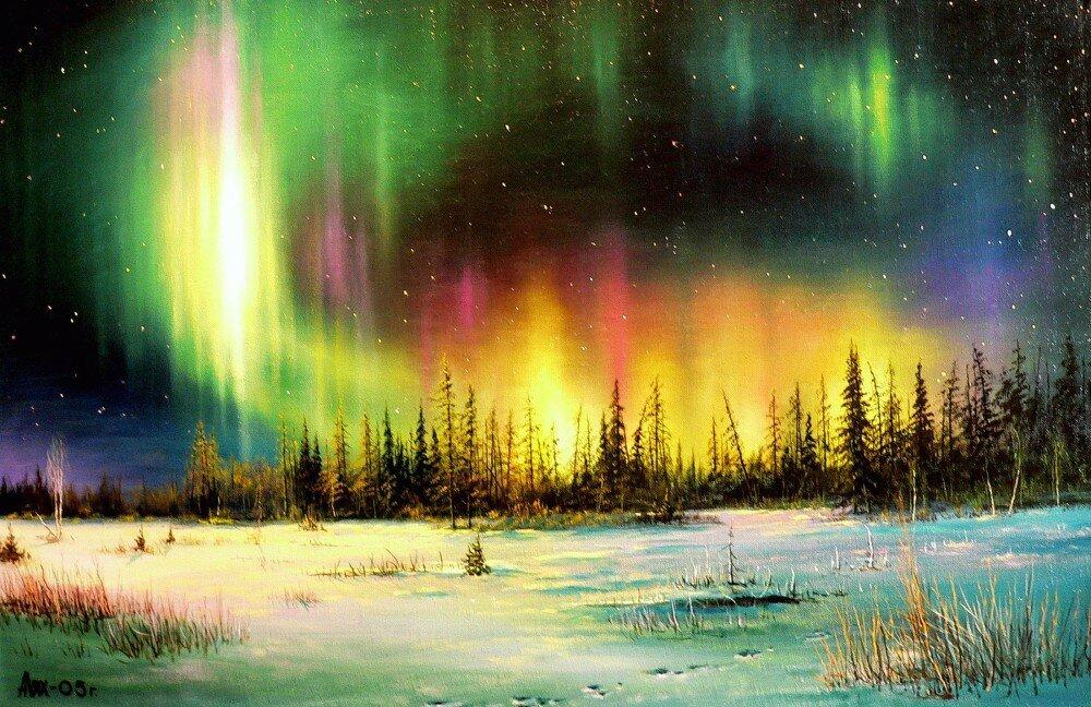 фотографий открытки с полярным сиянием советского союза отметил, что