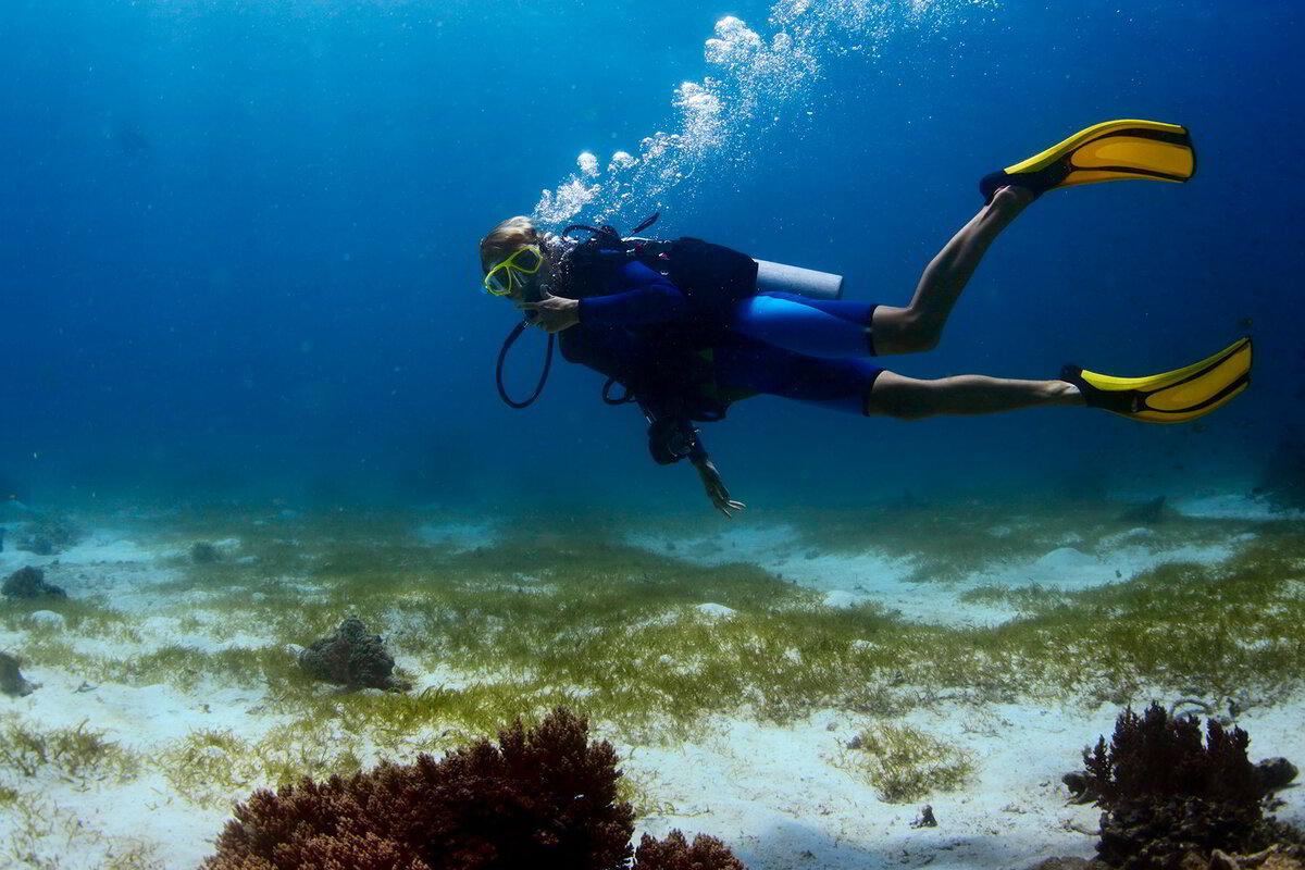 картинка аквалангист в море символизирует