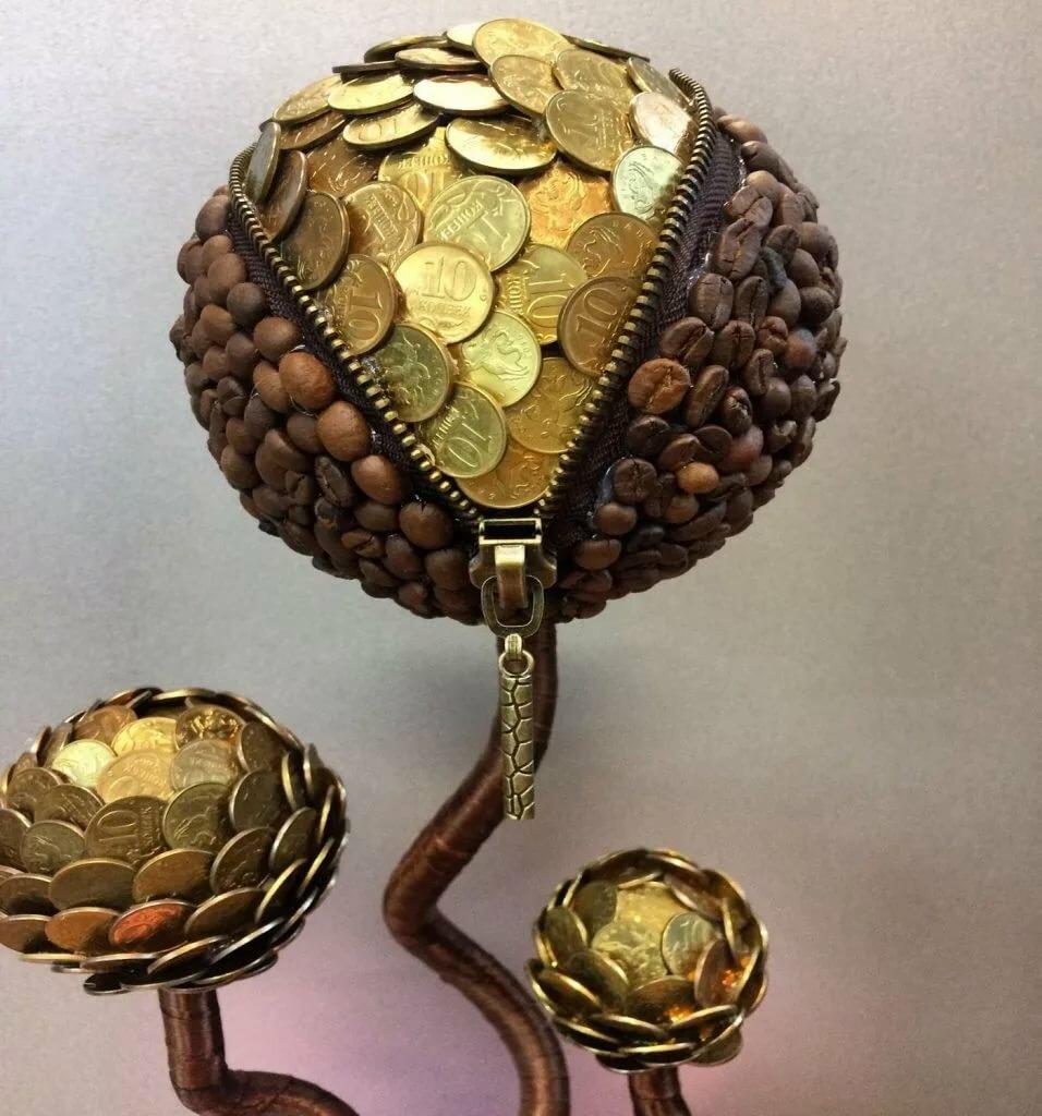 явление поделки из мелочи денег фото поперечное вязание спицами