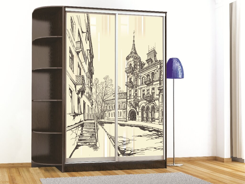 Шкафы с рисунками картинки