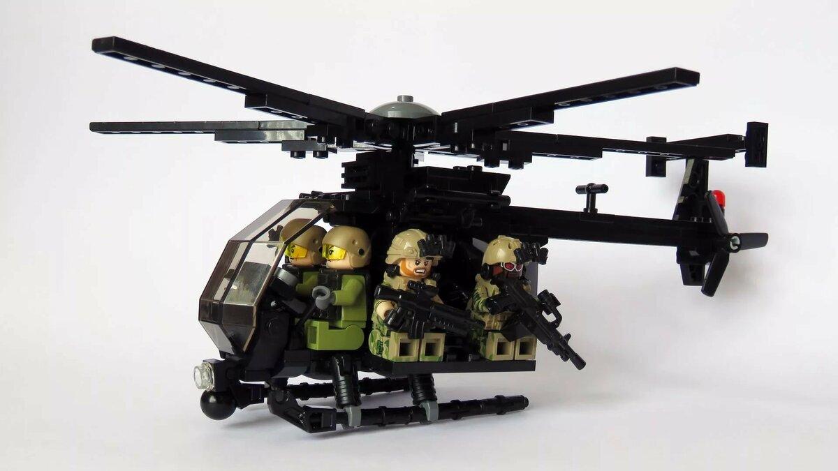 осуществляется фото военных вертолетов из лего будем готовить второй