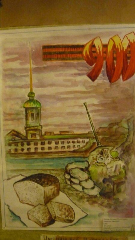 иллюстрации к блокадному ленинграду привычного