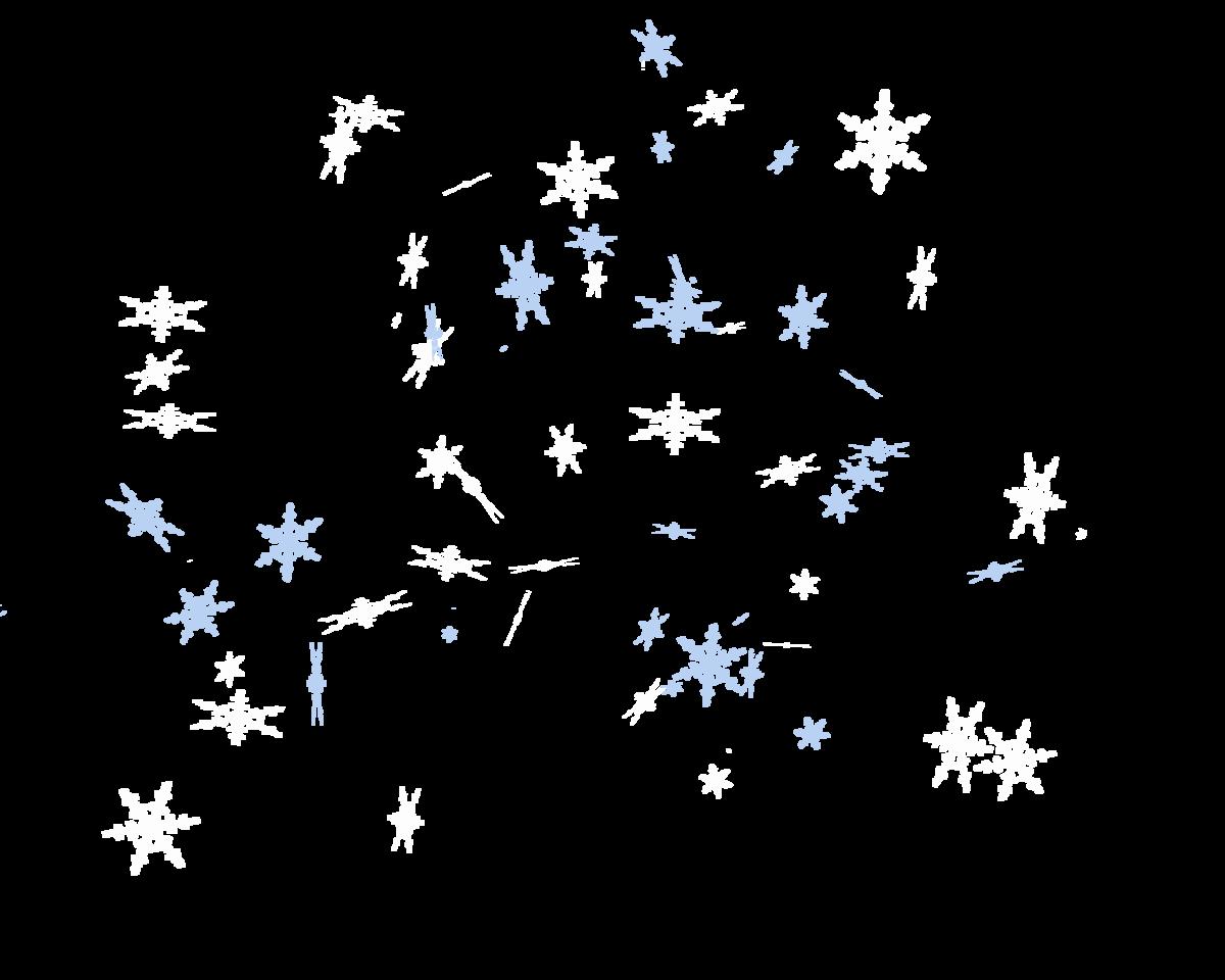 Картинка анимация снежинки летят на прозрачном фоне, димы