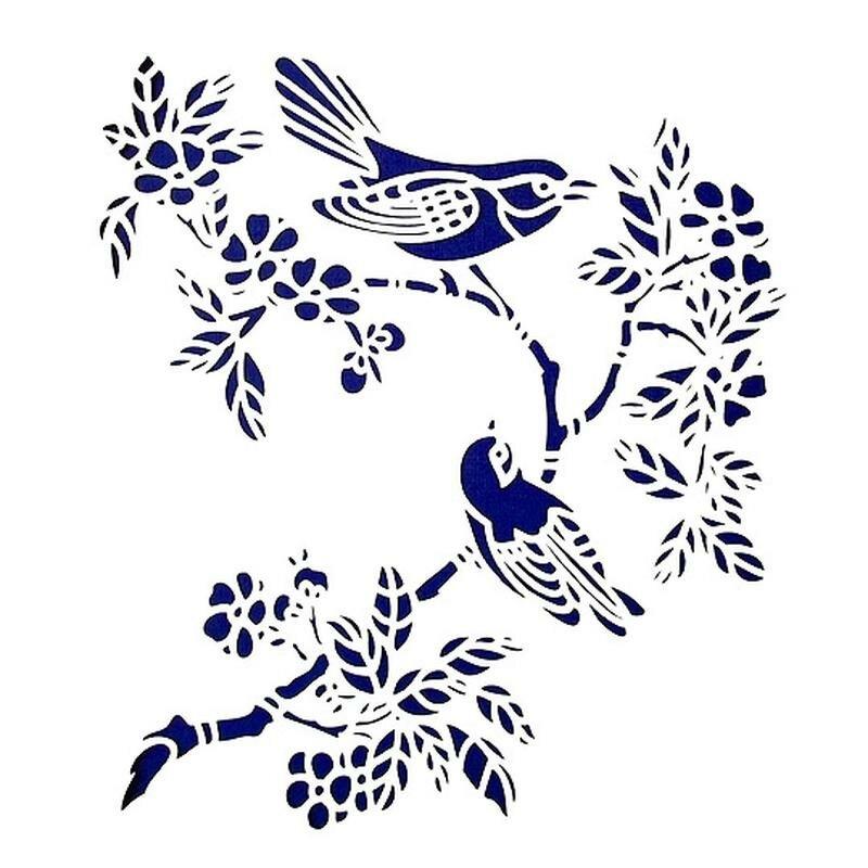 Картинки для трафаретов птиц
