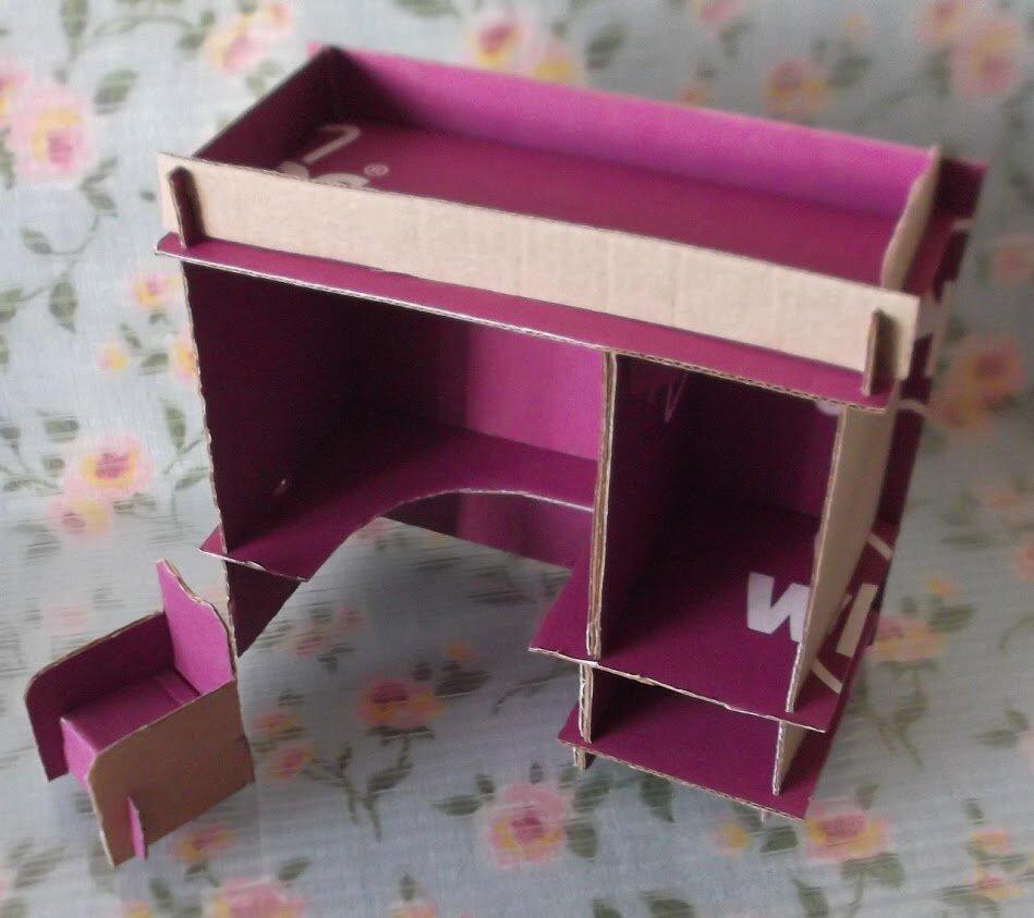 мебель для барби своими руками фото коневодов серая масть