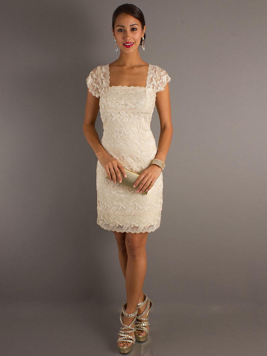 Короткие платья на свадьбу картинки