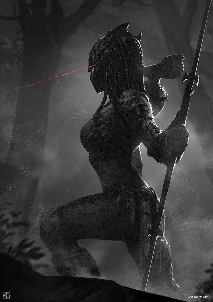 Predator babe, swollen pussy mound gif