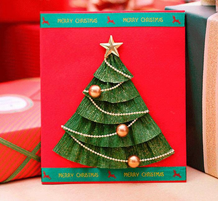 Елка из открыток к новому году своими, подари улыбку картинки