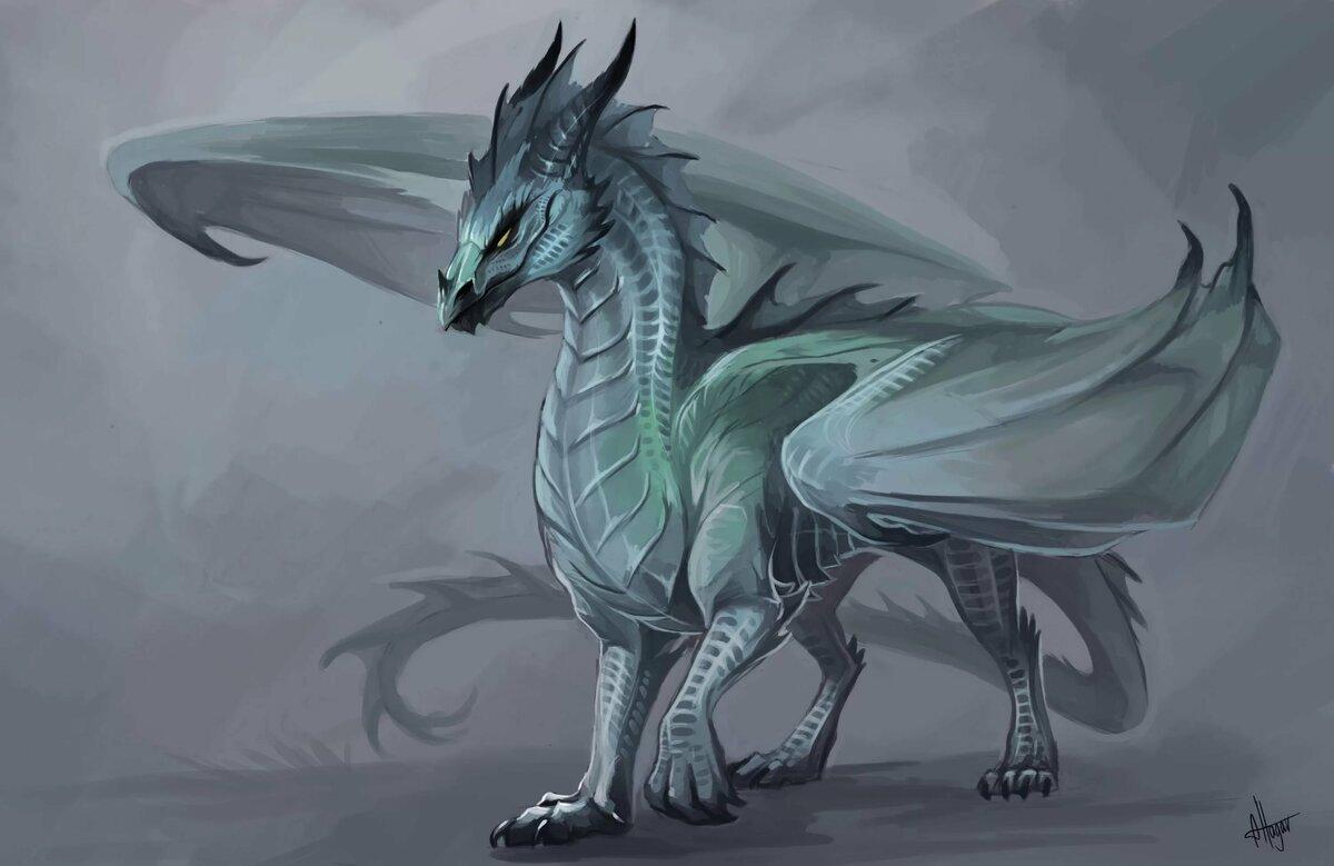 серебряные драконы картинки красивые стоит