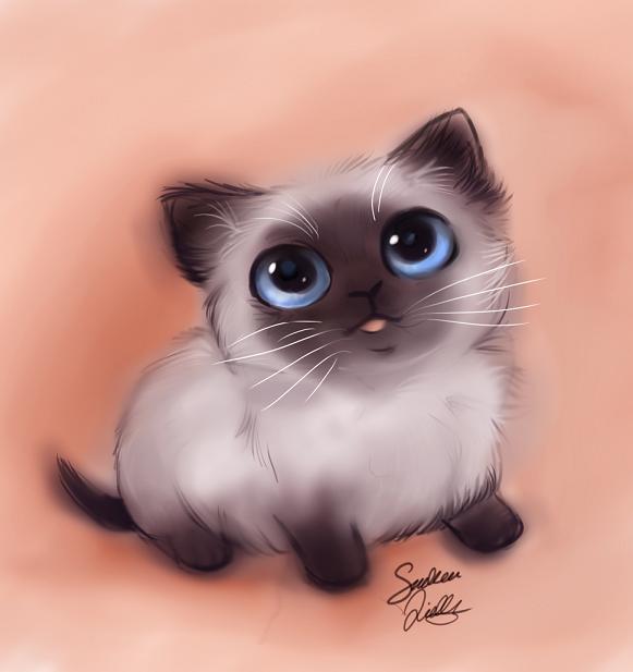 природе картинки милые котики мультяшные рецепт