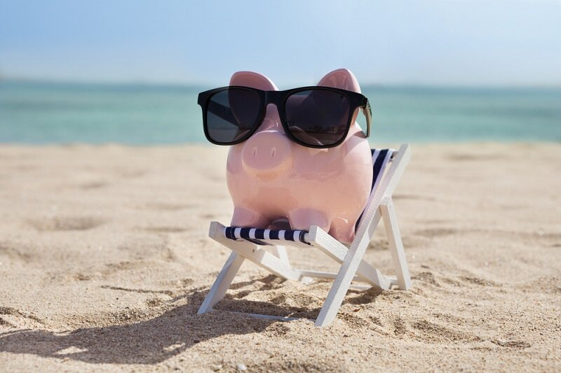 Тещи днем, смешные пляжные картинки