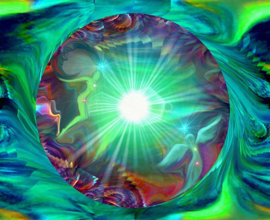 Картинки эзотерика свет