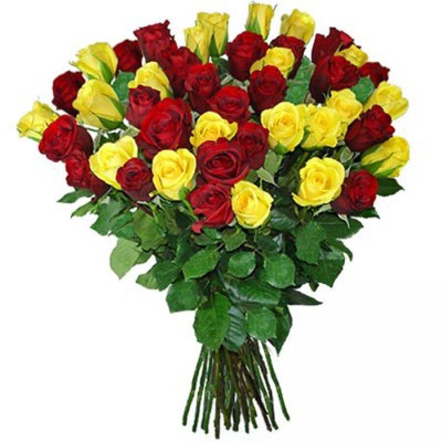 Букет в 30 роз, цветы кирове оптом