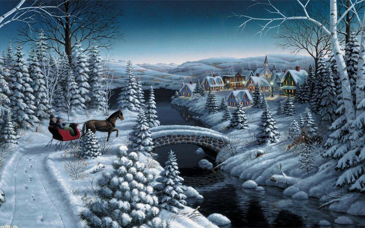 Картинки новогодняя сказка