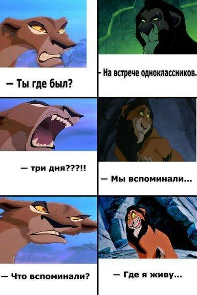 Приколы король лев в картинках, доченьке