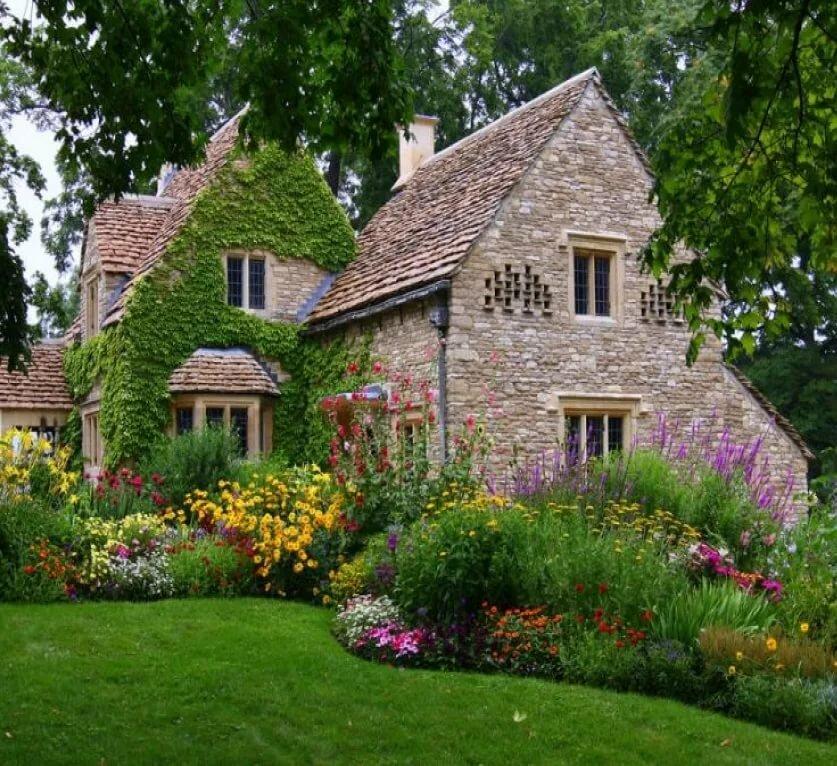 Картинка английского домика