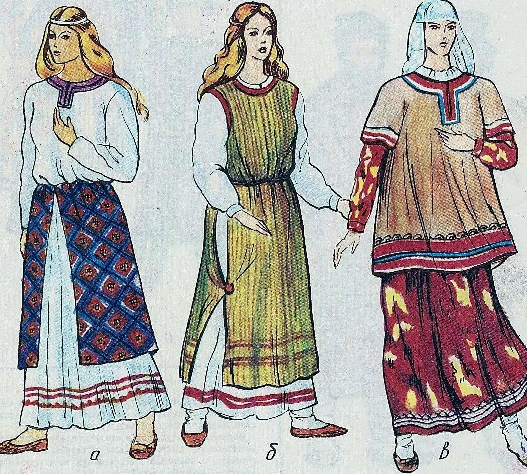 костюм славян в картинках