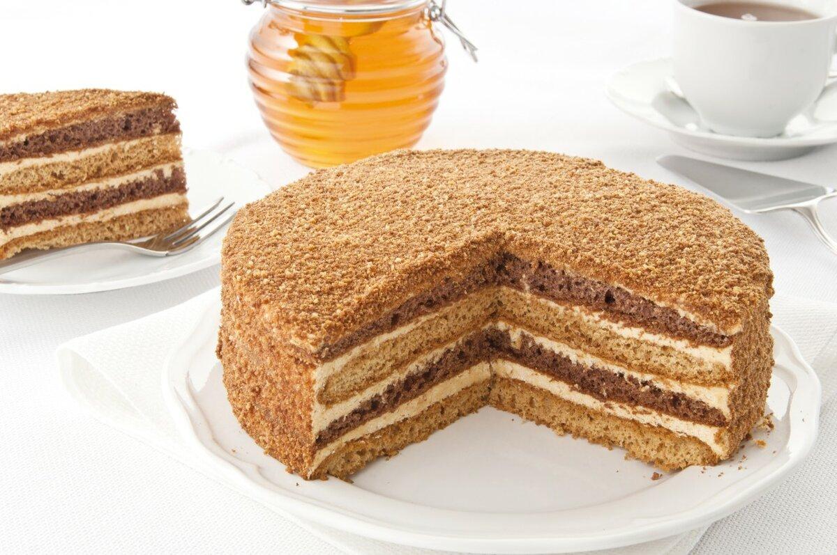 Рецепт медового торта картинки