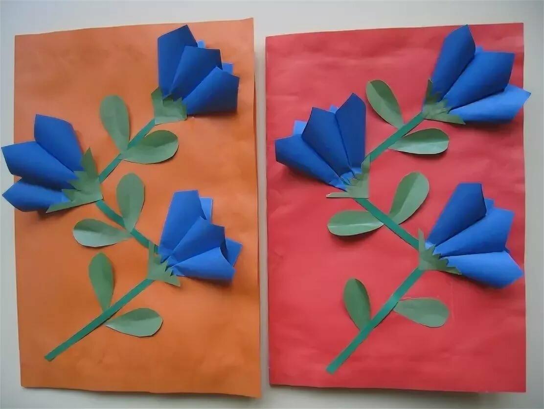Модерн, открытки к 8 марта своими руками в детском саду подготовительная группа