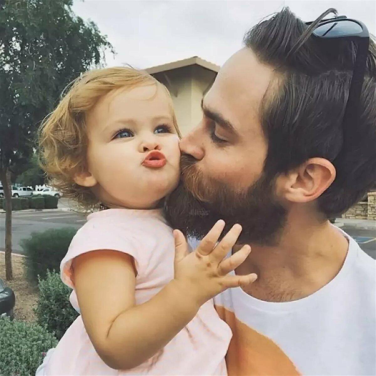 Открытки пожеланием, картинки с дочкой маленькой