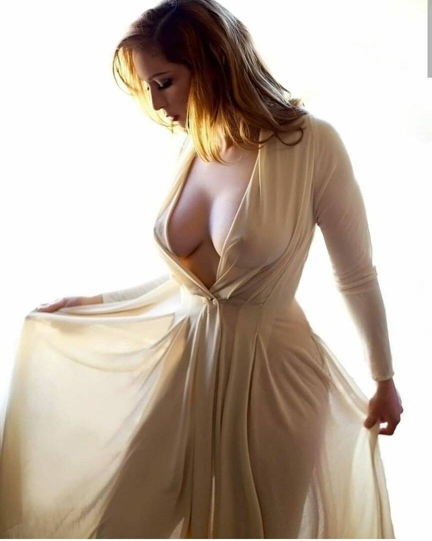 девки с большими сиськами в прозрачной одежде - 13