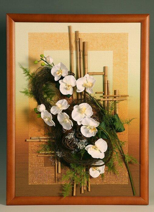 Открытки из искусственных цветов, крещенским сочельником января