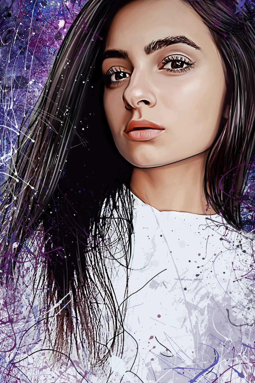 арт портрет картинки пересылки