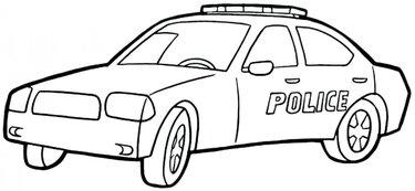 Polis Arabası Boyama Sayfası Card From User Rau79 In Yandex