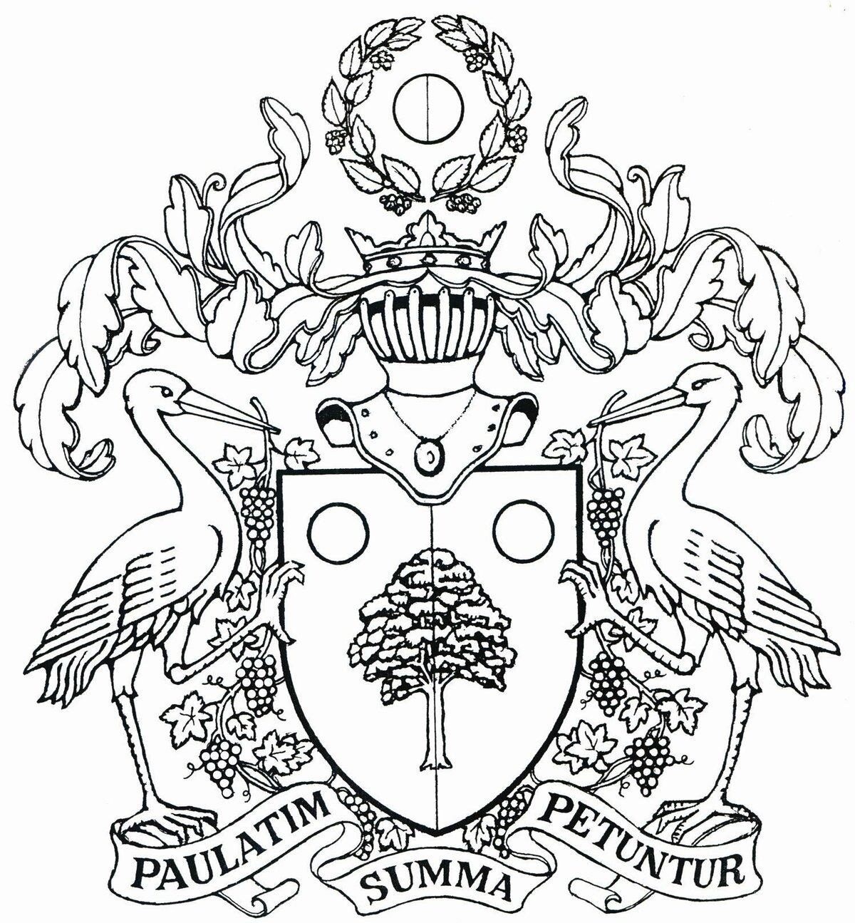 Семейный герб раскраска
