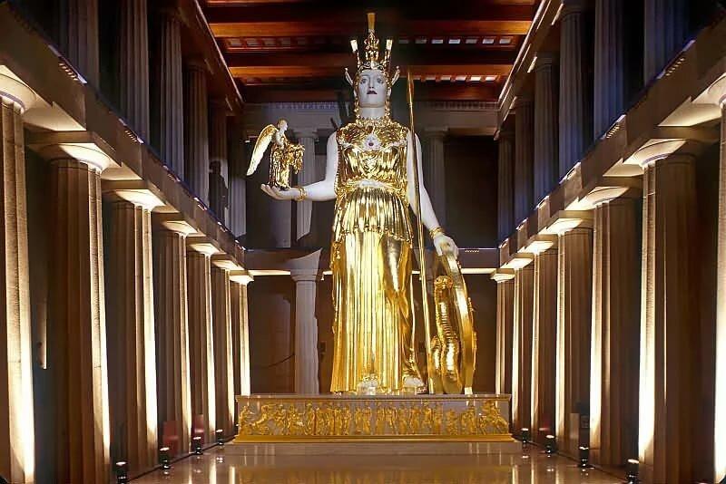 Картинки статуя афины