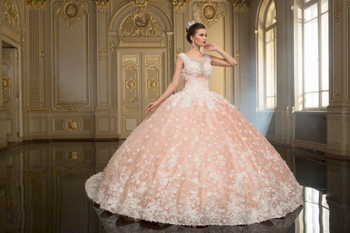 Самый пышные свадебные платья картинки
