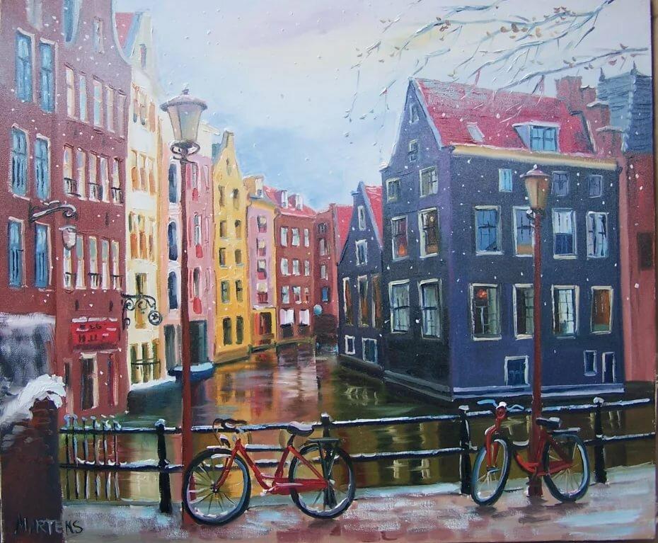 Картинки амстердама акварель, картинка пьянь открытки