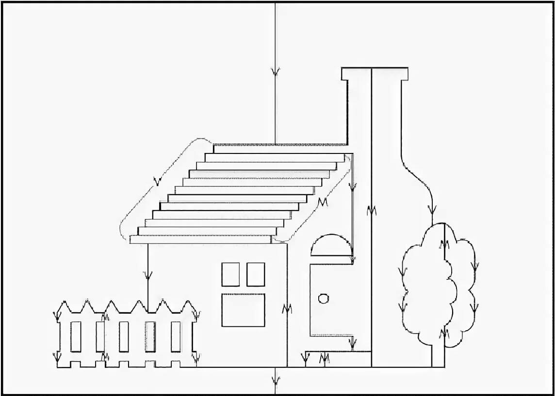 Открытка объемная дом шаблон