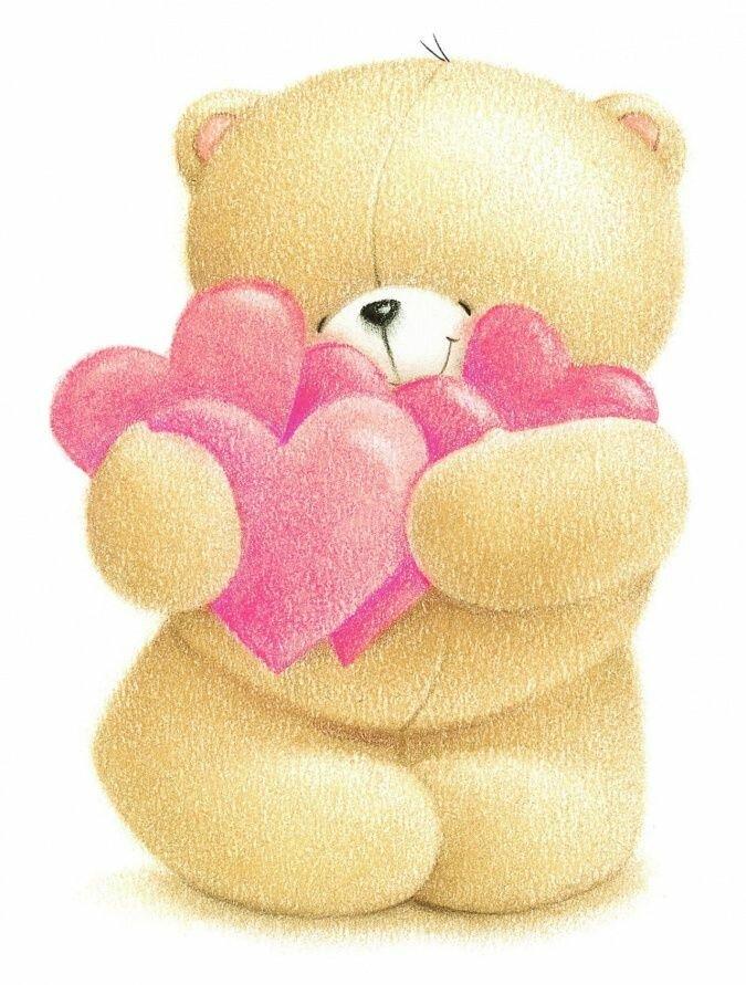 Открытки медведей, лучшие