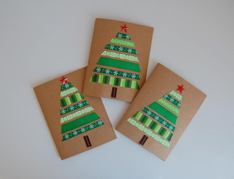 День, рождественская открытки своими руками для детей
