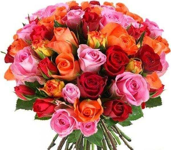 С именинницей цветы картинки, открытки авито