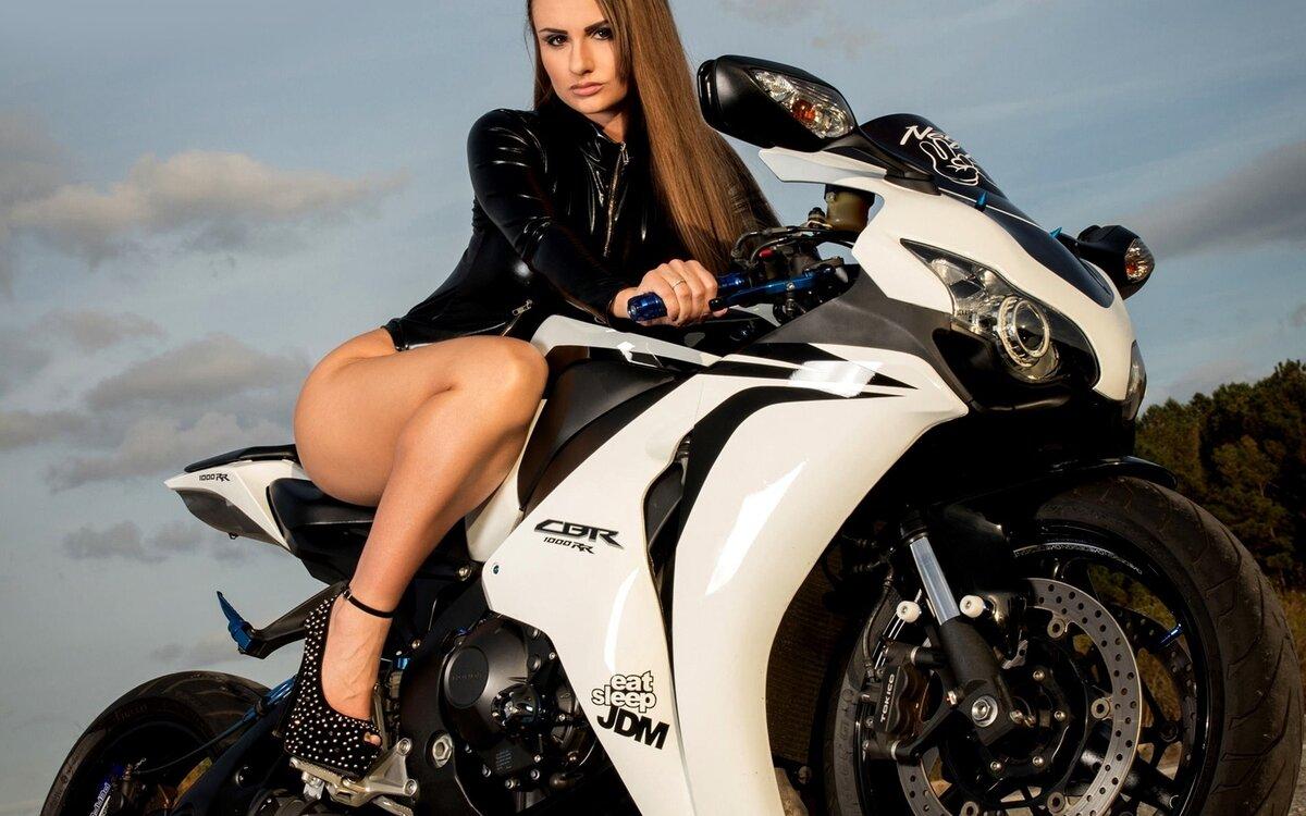 Женщина и мотоциклы картинки