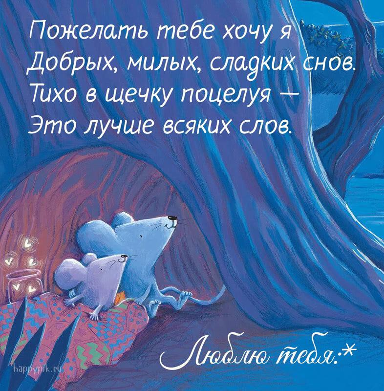 Иришка, картинка пожелание доброй ночи любимому