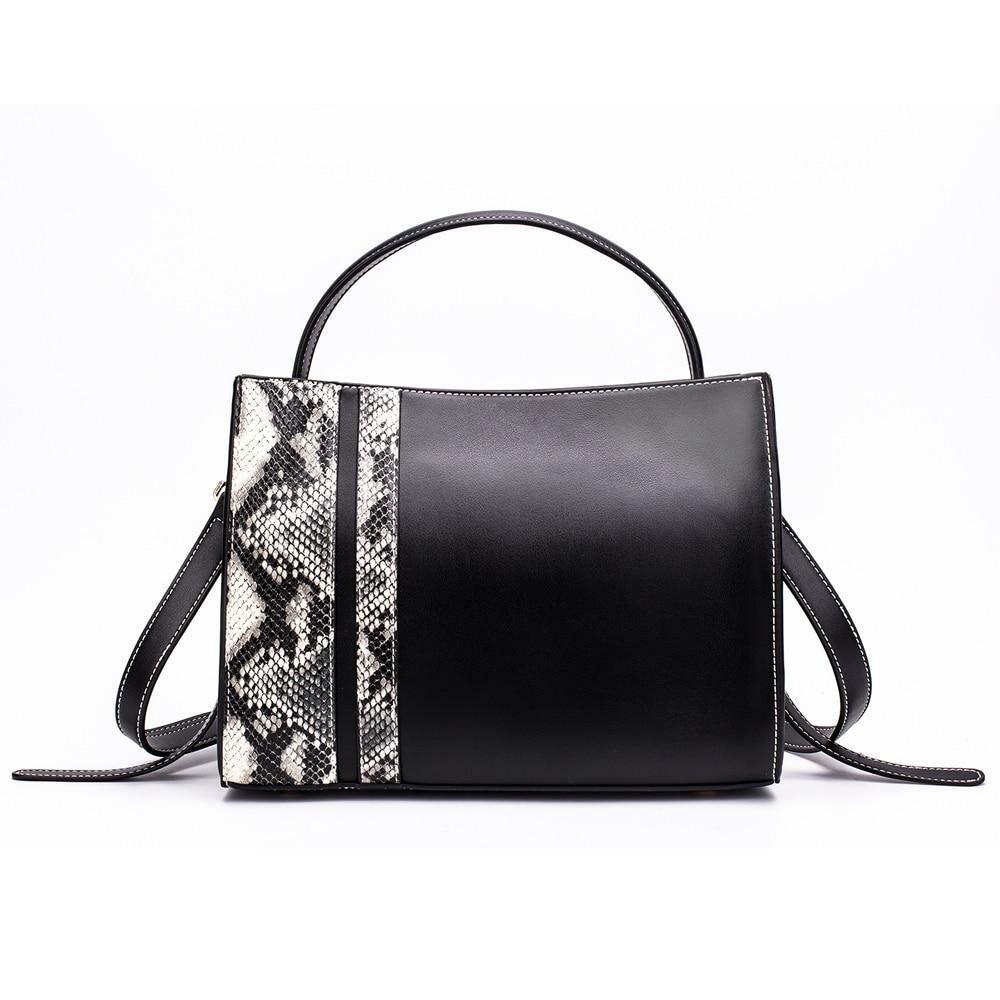 ea3befcfc500 ... MIYACO женские кожаные сумки дизайнерские сумки через плечо со змеиным  узором сумки высокого качества для женщин