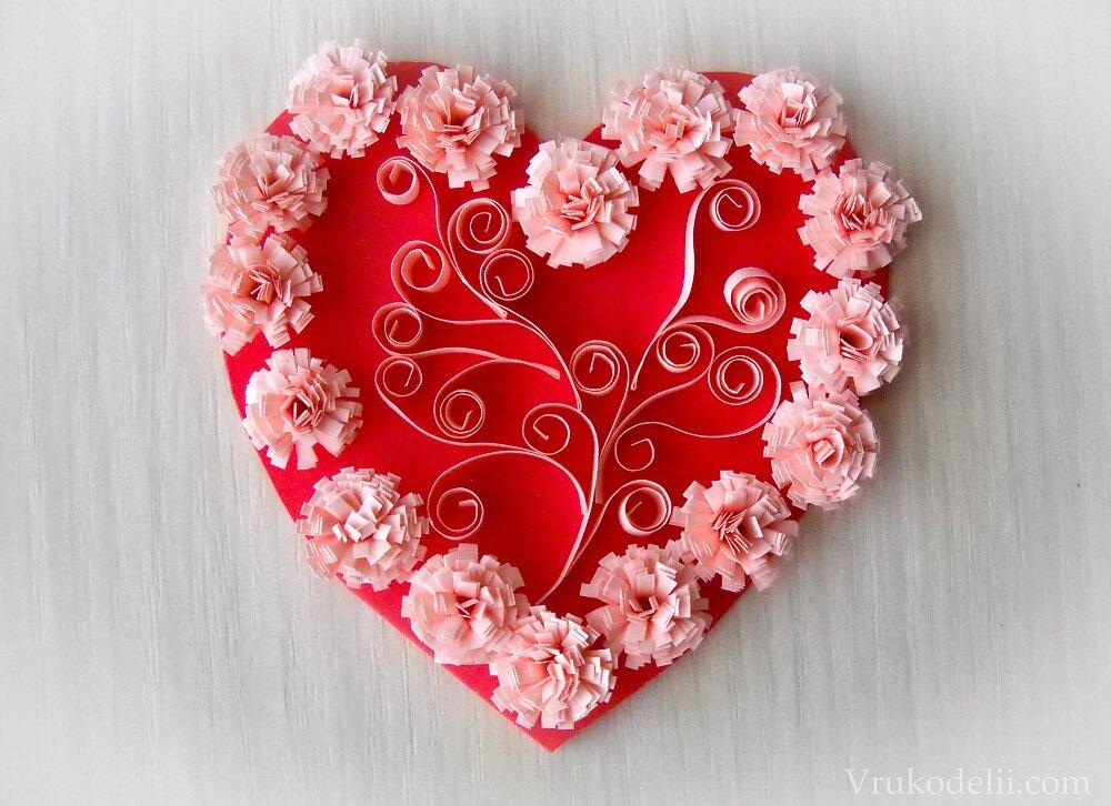 Надписью девочка, открытки в форме сердце