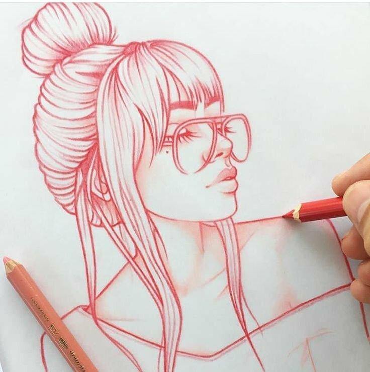 Прикольные картинки для срисовки для девушек, картинки мужик сказал