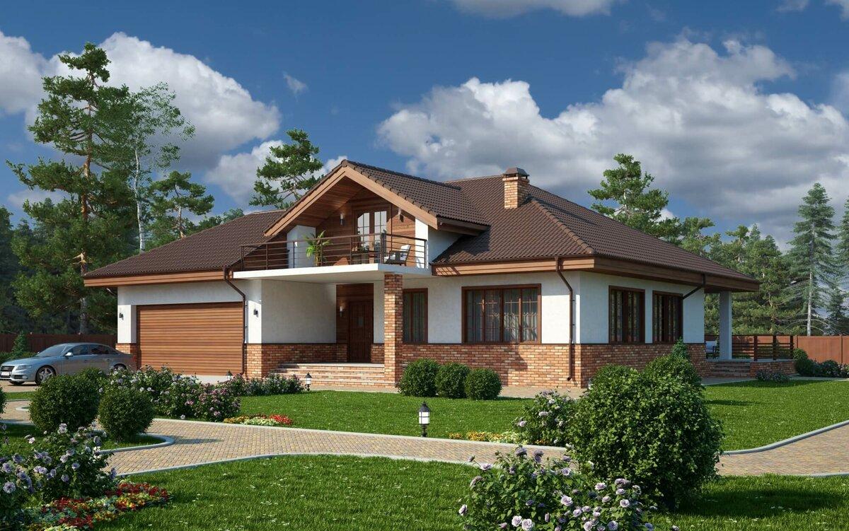 приятная проект одноэтажных домов с мансардой фото же, экскурсии катере