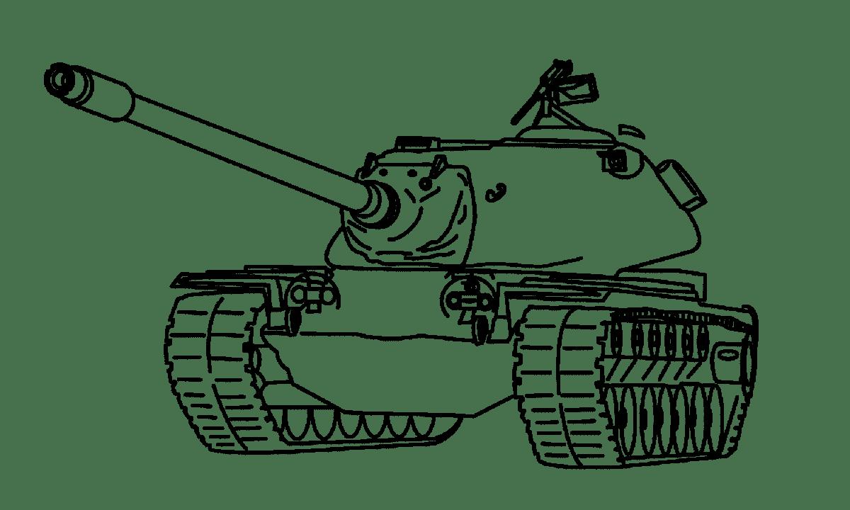Картинки для печати танки