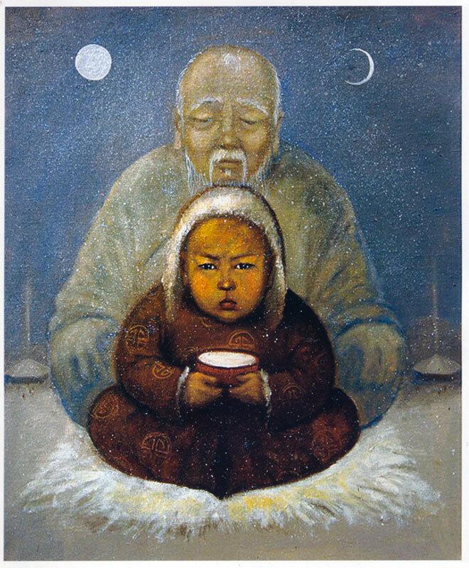 Монгольские открытки с добрым утром, днем рождения года