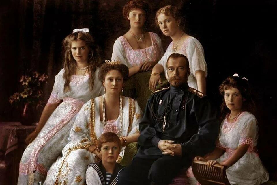 Картинки царской семьи романовых